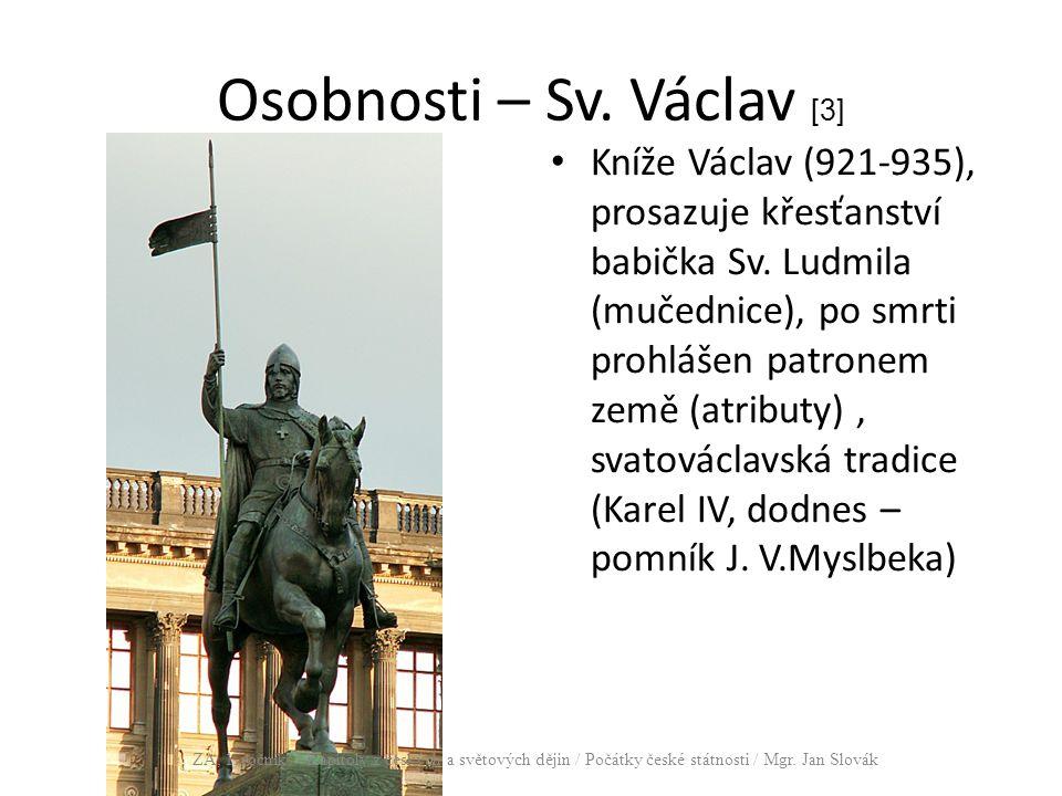 Osobnosti – Sv. Václav [3]